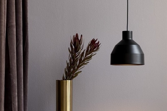 Czarna lampa wisząca William 20 Nordlux