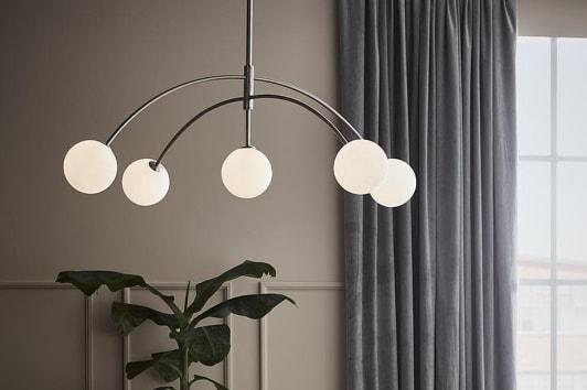 Designerska lampa wisząca szklane kule Heaven 117 Markslojd